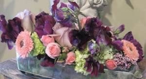 Victorian purples for a party